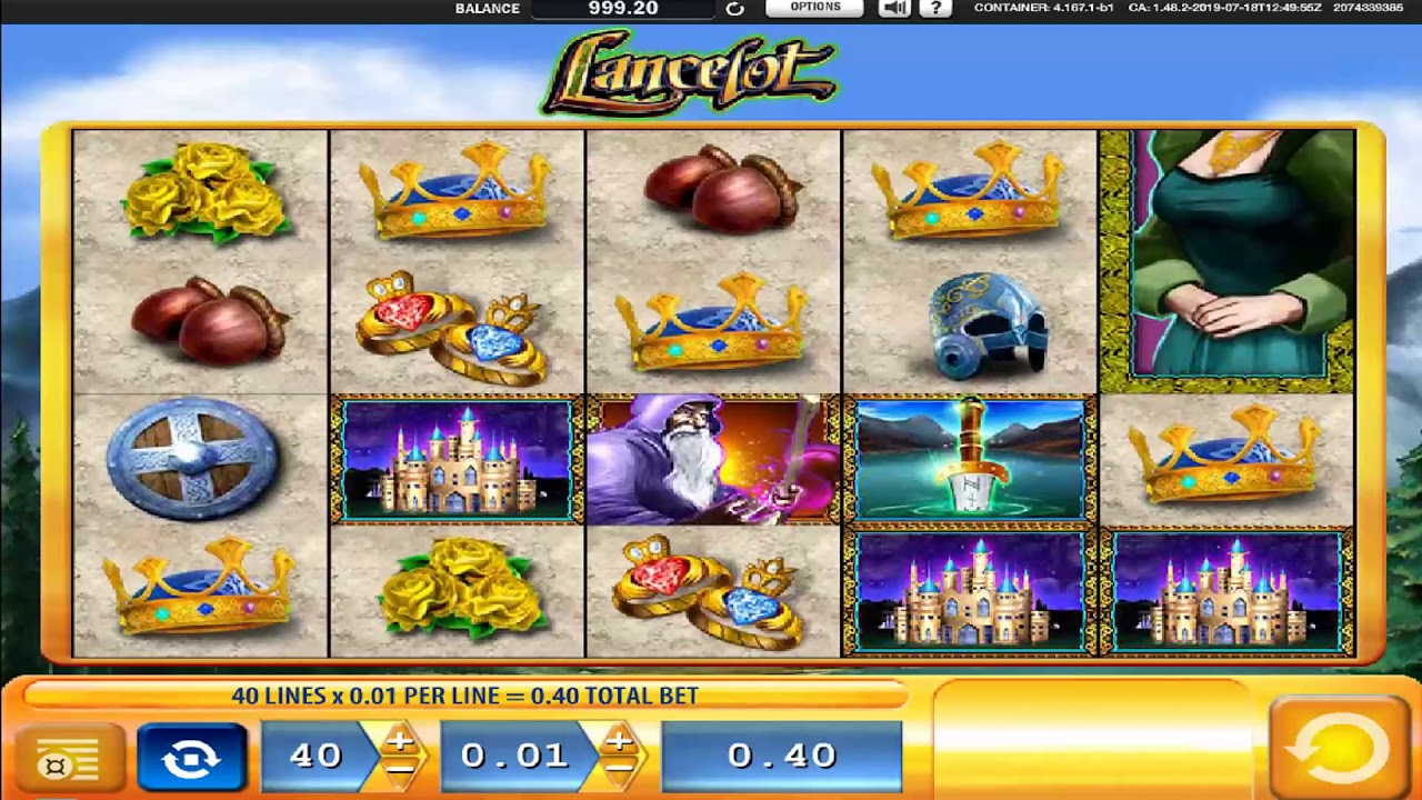 Lancelot Slot Machine Online
