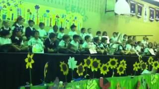 Zacharie Cloutier - graduation maternelle 1 de 3