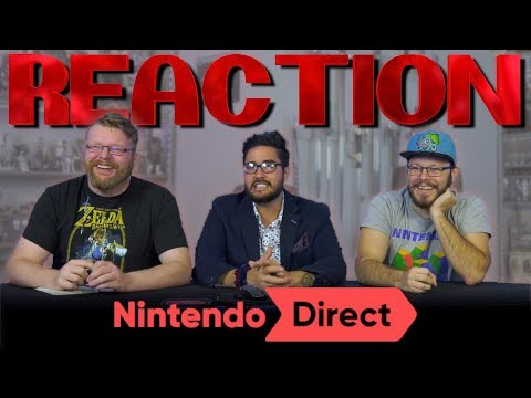 Nintendo Direct 9.4.2019 REACTION!!