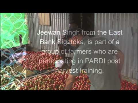 Fiji farmers to benefit from post harvest research (Video 2)