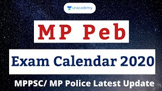 MP Peb Exam Calendar 2020 | MP Government Vacancies for 2020 | Peb latest update