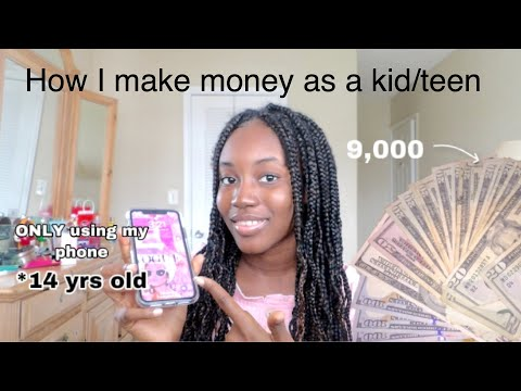 How to make FAST money as a teen! *12,13,14*