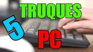 5 truques/atalhos no computador que você não sabia - Parte 1