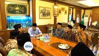 Indonesian Ahmadi Muslims visit Nahdhlatul Ulema Headquarters