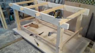 Рабочий стол в мастерской (верстак) своими руками