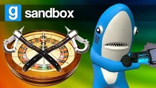 AXE GAMES, SARK'S ASS, INTENSE SUCTION! | Garry's Mod Sandbox (Funny Moments)
