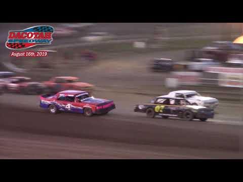 Dacotah Speedway Hobby Stock A-Main (8/16/19)