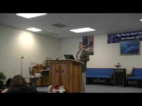PastorJohn Schmidt  Rock Island Full Gospel Church  pt 1
