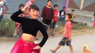 Tihar dance in kawasoti 2015