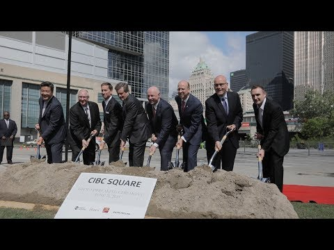 CIBC Square Groundbreaking - Toronto