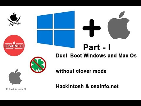 Dual Boot Windows + Mac Os On Pendrive Without Formatting P.C Part-I In Hindi || By AB Techo