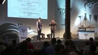 Prague Bar Show 2012: seminář GENEVER - od léku po stimulant, Alex Kratěna & Ben Belmans