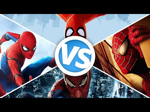 Spider-Man VS Amazing VS Homecoming VS Into the Spider-Verse : Movie Feuds