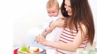 Диета мамы: диета кормящей мамы, после родов (Видеоверсия)