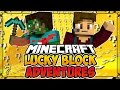 """LUCKY BLOCK ADVENTURES #7 - """"To The Nether!"""" (Minecraft Lucky Block Survival)"""