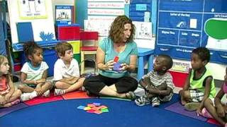 Pre-k Math Lesson: Pocket Patterns With Tag Bags
