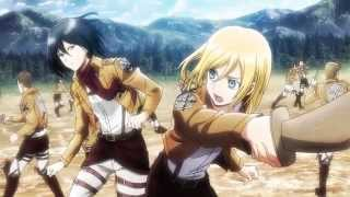 Attack on Titan AMV - Through the Fire and Flame by DragonForce