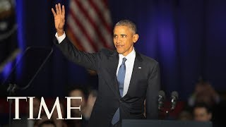 Barack Obama Receives Ethics In Government Award From The University of Illinois | TIME