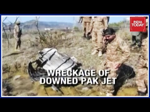Wreckage On Cam: IAF Confirms Proof Of Pakistan F-16 Jet Shot Down