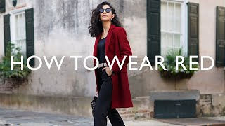 Classic Color Combinations Tнat Always Look Chic - How To Wear Red