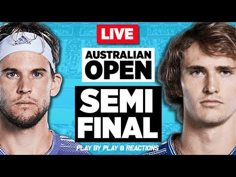 🔴 THIEM Vs ZVEREV   Australian Open 2020 (SF)   LIVE Tennis Stream Play-by-Play