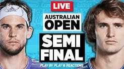 🔴 THIEM vs ZVEREV | Australian Open 2020 (SF) | LIVE Tennis Stream Play-by-Play