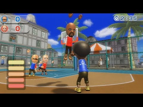 wii sports resort raging and funny moments