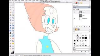 Pearl Speed Art~Steven Universe First Pearl Drawing