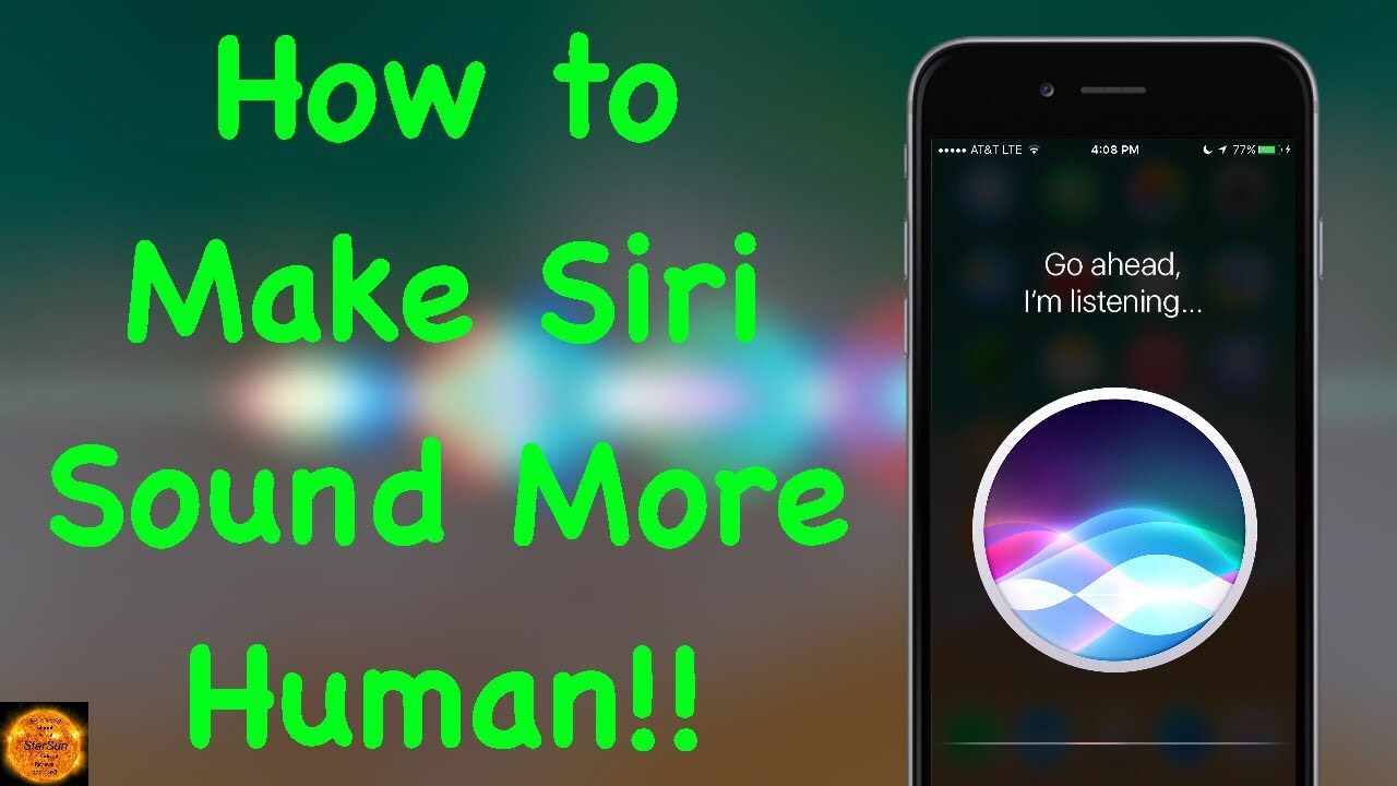 how to make siri work