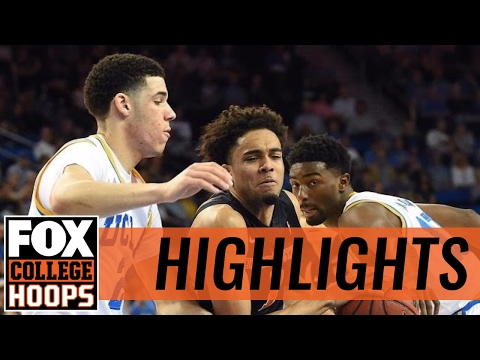 (10) UCLA takes care of Oregon State, 78-60 | 2017 COLLEGE BASKETBALL HIGHLIGHTS
