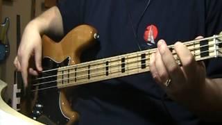 Boz Scaggs Lido Shuffle Bass Cover