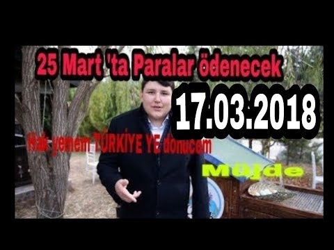 """Çiftlik bank MÜJDE ceo Mehmet Aydın """"geri dönücem Türkiye ye"""" (17.03.2018)"""