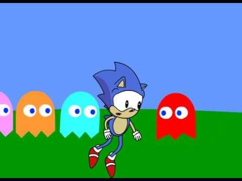 Sonic In Pac-man World