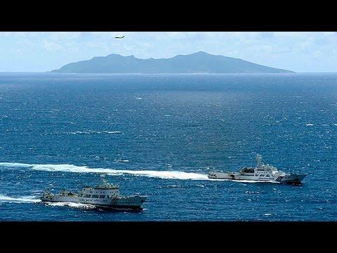 First ten-thousand-tonnage Maritime Surveillance Ship lined into China sea fleet Diaoyu Island