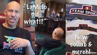 LaVar Ball REACTS To LaMelo Signing With Puma & New BBB Collaboration & Merch!