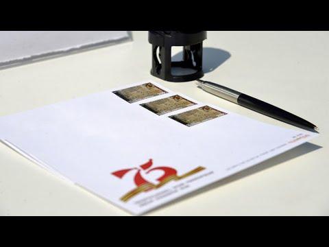 В Ереване погасили марку в честь 75-летия Победы