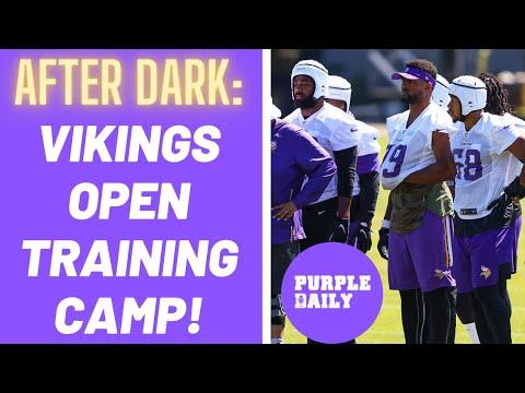 Minnesota Vikings training camp day 1 recap – PURPLE DAILY AFTER DARK