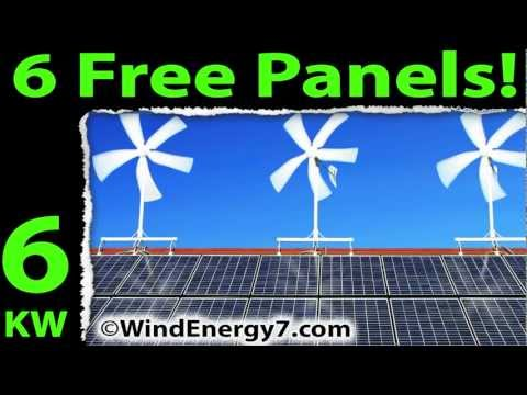 Wind & Solar and Wind and Solar and Wind