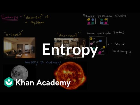 Introduction to entropy | Energy and enzymes | Biology | Khan Academy