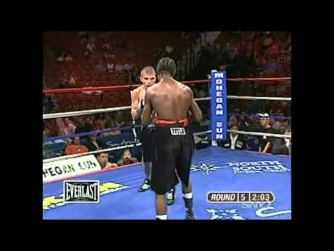 Featherweight Boxing Terry Lantz vs Mike Oliver pt 2/3