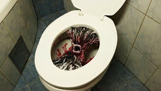 Scary Toilet Prank - Funny and Crazy