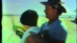 Boomerang Billy (John McMahon) TV interview on the beach