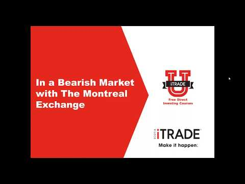 In a Bearish Market with the Montreal Exchange (May 2017)
