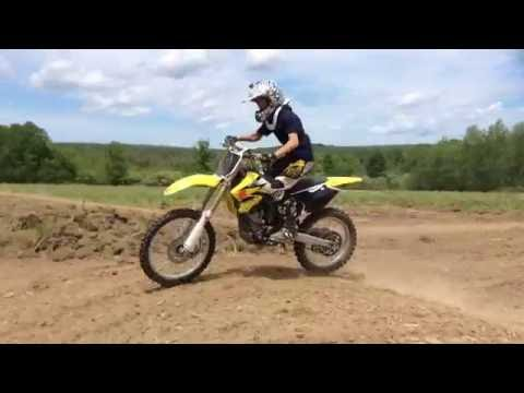 13 year old ripping on rmz 250