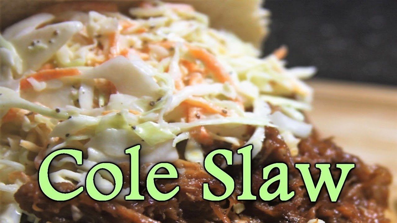 How to make Cole Slaw