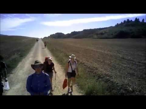 Camino de Santiago by drone