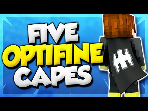 5 optifine cape designs
