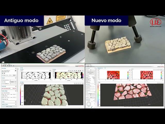 surfaceCONTROL 3D 3500   Máxima precisión en inspección de superficies