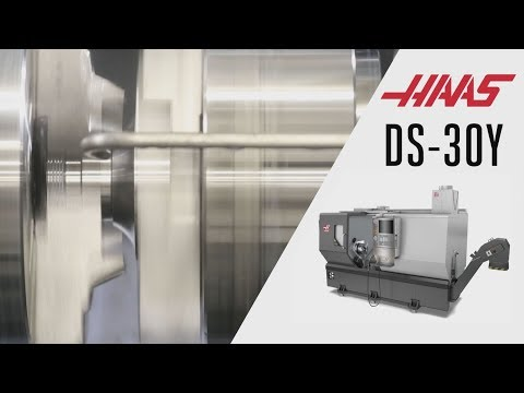 DS-30Y Cutting Demo - Haas Automation Inc.