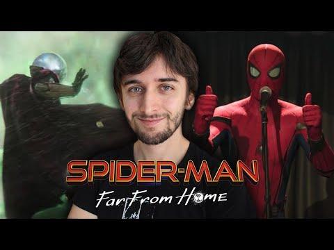 SPIDERMAN: FAR FROM HOME - LE MIE IMPRESSIONI SUL TRAILER   Lorenzo Signore